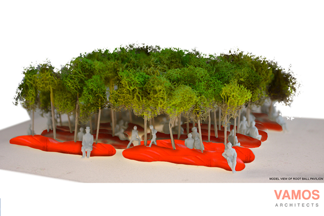 2. Root Ball Park model view